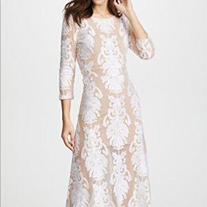 For Love & Lemons white lace dress XS